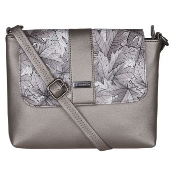 Esbeda Grey Color PU Synthetic Material Autumn Grey Slingbag For Womens