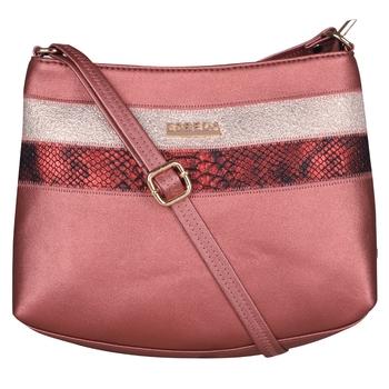 Esbeda Maroon Color Medium Size Chunky Glitter Slingbag For Womens
