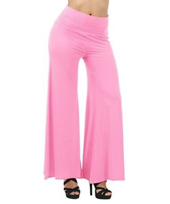 pink Rayon Palazzo For Women's