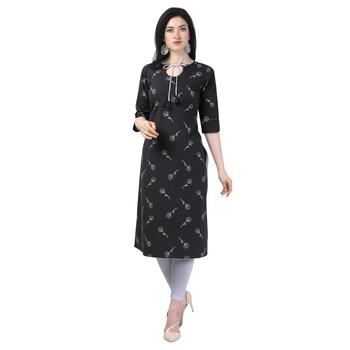 Elora Cotton Floral Printed Kurti for Women