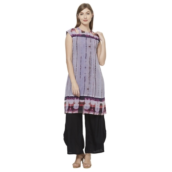 Multicolor woven polyester dresses