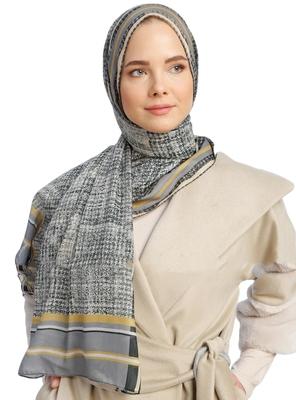 Women'S Printed Pashmina Cotton Scarf Hijab Dupatta