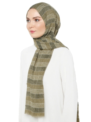 Women'S Multi Color Printed Pashmina Cotton Scarf Hijab