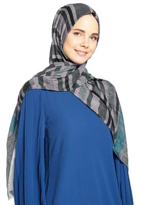 Women'S Casual Wear Pashmina Cotton Printed Hijab Scarf Dupatta