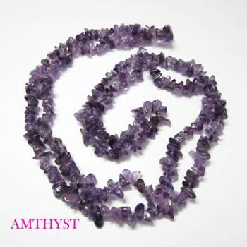 Amthyst Uncut Beads