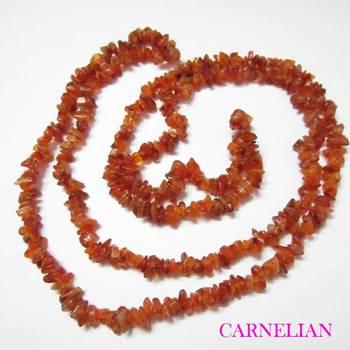 Carnelian Uncut Beads