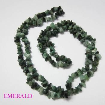 Emerald Uncut Beads