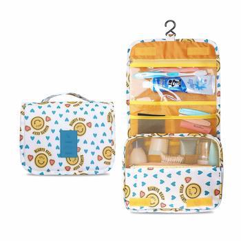 Shree Shyam Product Blue Multi Functional Toiletry Bag Organizer Bag for Men & Women 1 Pcs Set