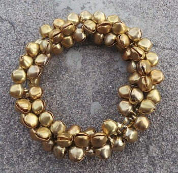 Gold Ghungroo Bracelet