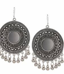 Silver Chandbali Dangler Earring For Women