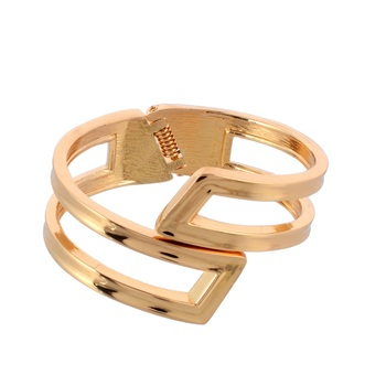 Gold Plated Bangle Bracelet For Women And Girls