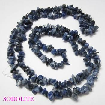 Sodolite Uncut Beads