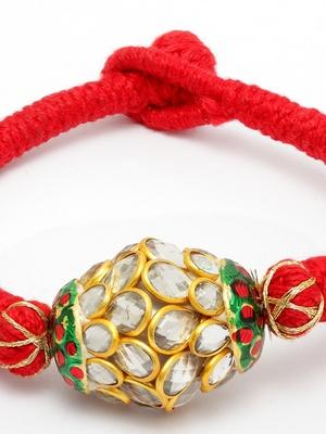 kundan bead Bracelet