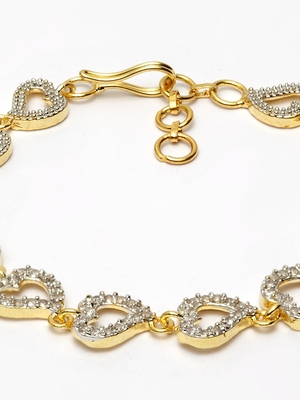 Gold Plated AD bracelet
