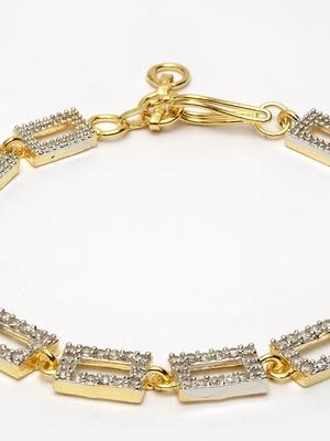 Gold Plated AD bracelet