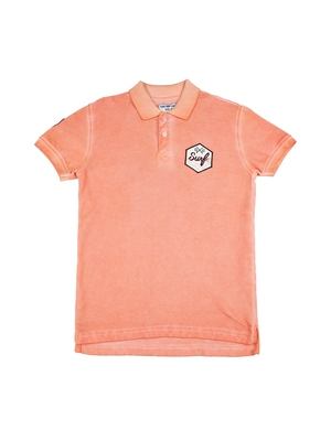 Pink printed cotton boys-tshirts