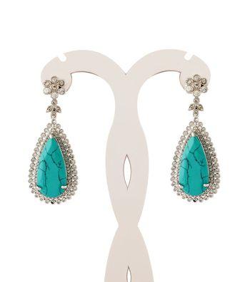 Sihiri Majestic Turquoise Earrings
