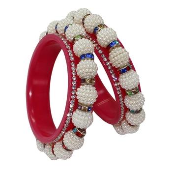 White Bangles And Bracelets