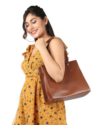 Brown Box Tote