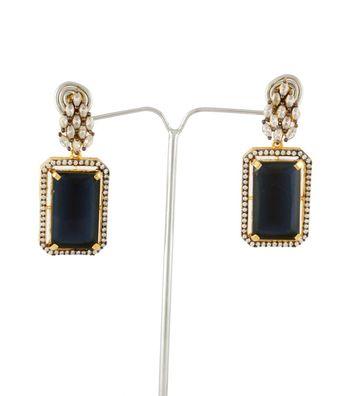 Sihiri Sensous Black Earrings