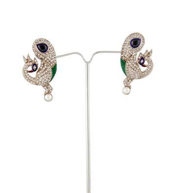 Sihiri Peacock Delight Earrings