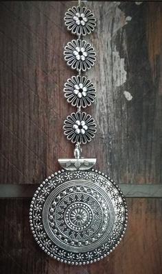 German Silver Mang Tika
