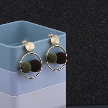 Elegant Gold Plated Party Wear Fancy Earring For Women Girl
