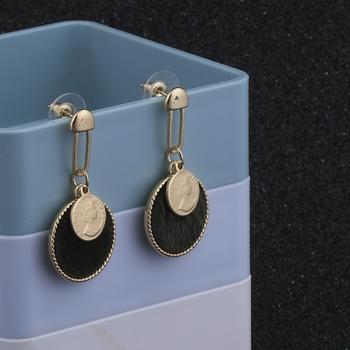 Gold Plated Stylish Designer Dangle Earring For Women Girl