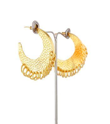 Sihiri Stunning Gold Earrings