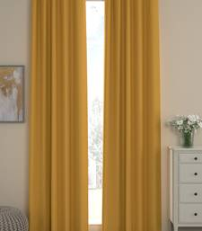 ROSARA HOME Sumo Matty Solid Pack of 2 Curtains