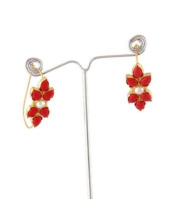 Sihiri Flower Hoop Earrings