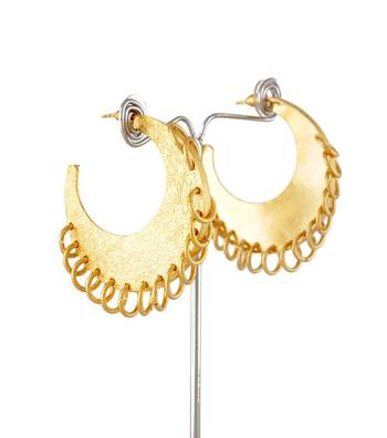 Sihiri Exquisite Gold Earrings