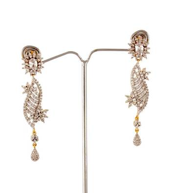 Sihiri Long Studded Delight Earrings