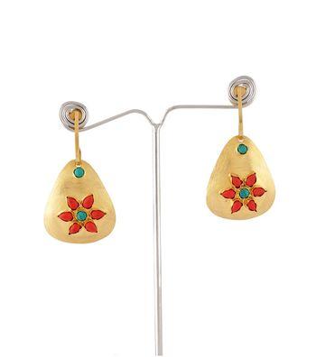 Sihiri Floral Motif Earring