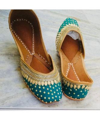 Wedding Shoes for Women,Green and Gold Women Shoes