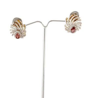 Sihiri Pink Fantasy Earrings
