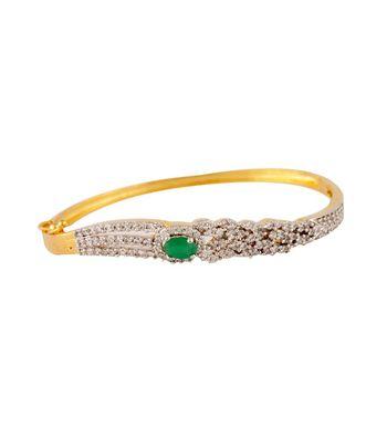 Sihiri CZ Green Bracelet