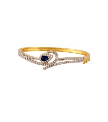 Sihiri CZ Blue Bracelet