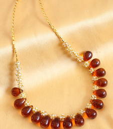 Beautiful Handmade Brown Necklace