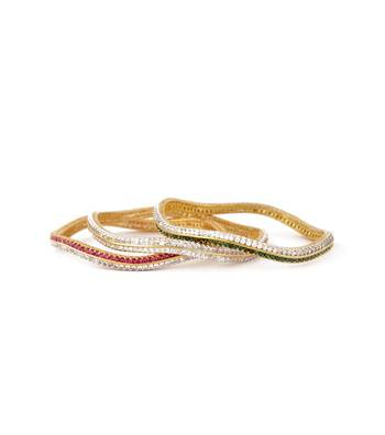 Sihiri Beautiful Curvy Bangles