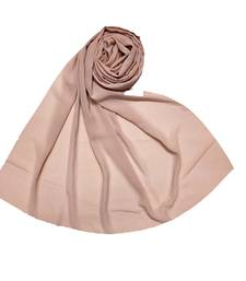 Pink Best Seller Premium Chiffon Plain Stole  Stole For Women