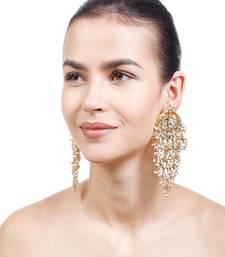 Malvika Kundan Chandbali Earrings