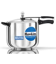 Hawkins Stainless Steel induction Base Cooker 8lt
