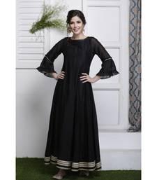 Kaali Anarkali Dress