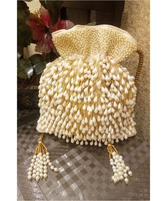 Light Gold potli bag