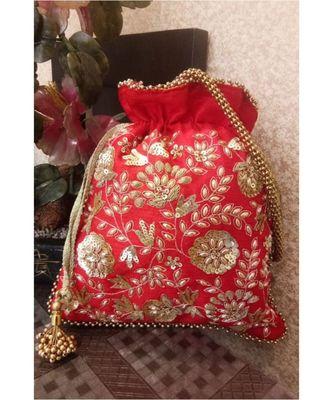 Red Potli Bag