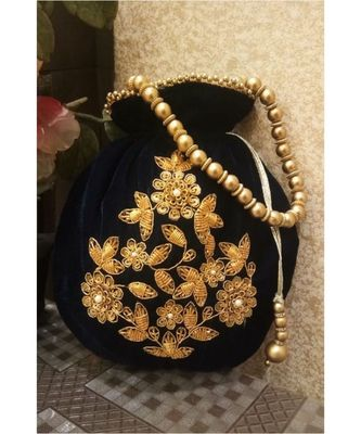 Black Potli Bag