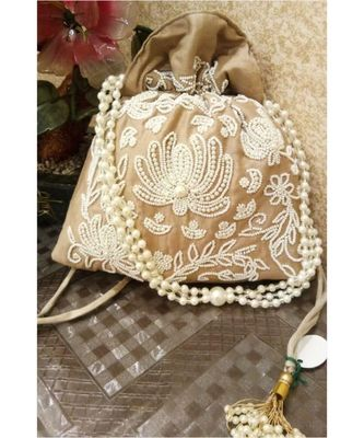 Golden Potli Bag