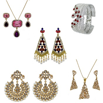 Multicolor jewellery-combo