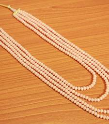Beige Crystal Necklaces